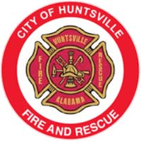 Huntsville Fire & Rescue logo.